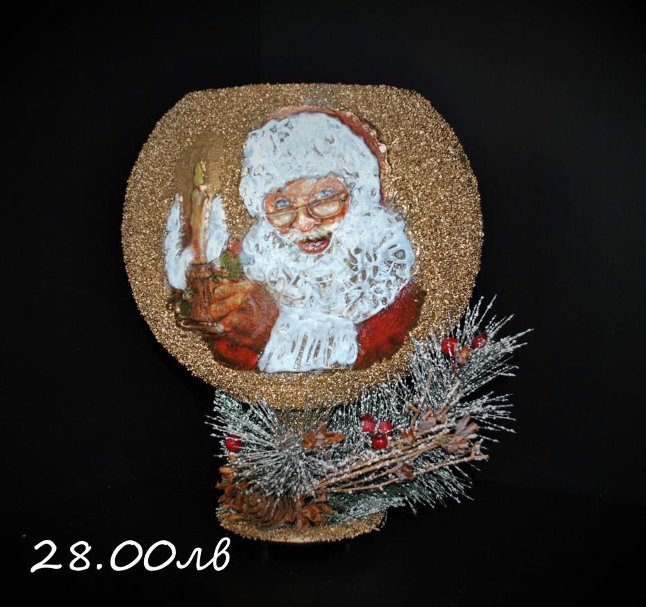 Свещник с Дядо Коледа