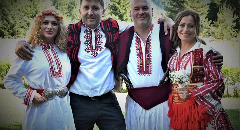 Българска битова сватба - място за сватба