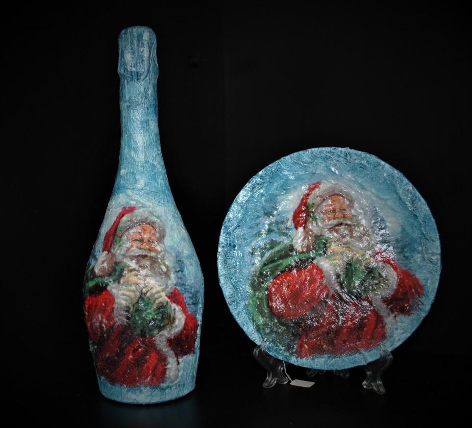 Новогодишен комплект с Дядо Коледа