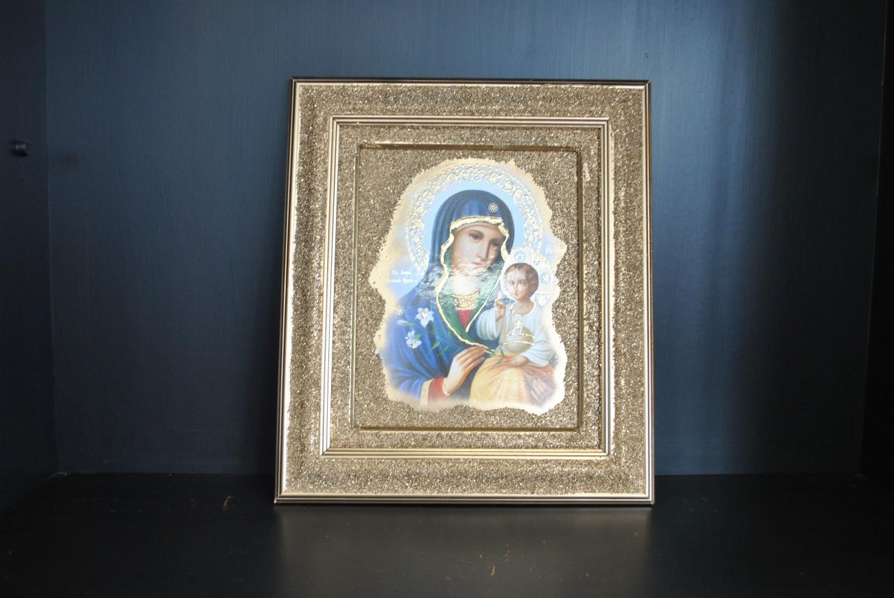 Икона - Богородица с младенеца