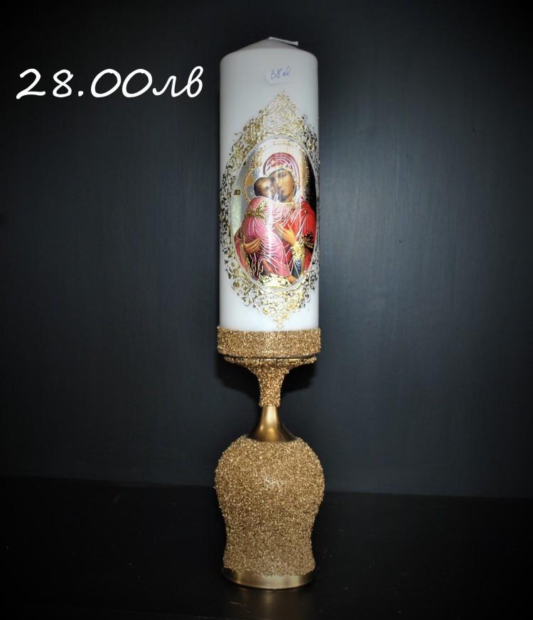 Свещник с Богородица