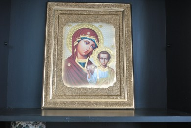 Icon - Virgin with baby